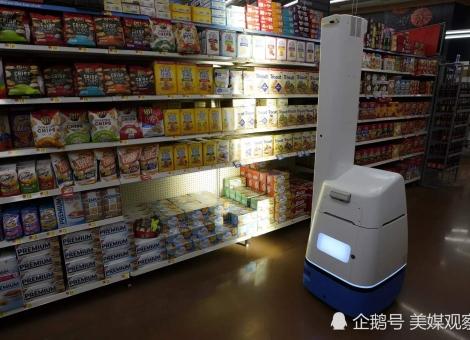 进一步降低人力成本,美国零售巨头决定推广使用机器人