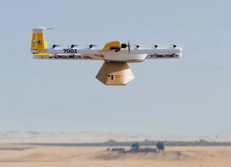 無人機快递之战,谷歌Wing击败亚马逊获無人機配送许可