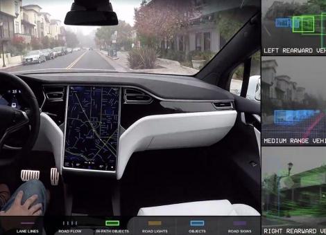特斯拉在自动驾驶汽车领域排名靠后 却最受用户信赖