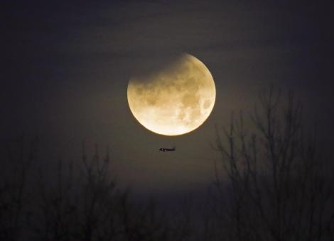 """7月17日凌晨观""""天狗食月""""错过要再等两年"""