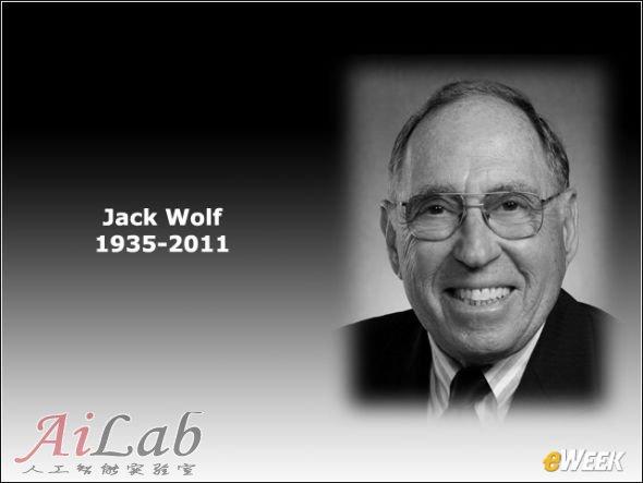 数学家兼计算机理论家杰克·沃尔夫(Jack Wolf)