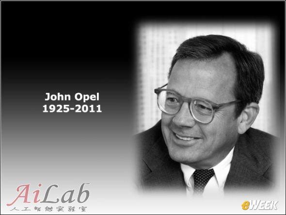 IBM前CEO约翰·奥佩尔(John Opel)