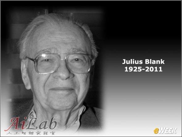 仙童半导体联合创始人朱利叶斯·布兰科(Julius Blank)