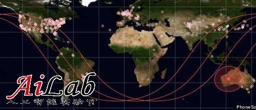 NASA将三台Andriod手机送至太空