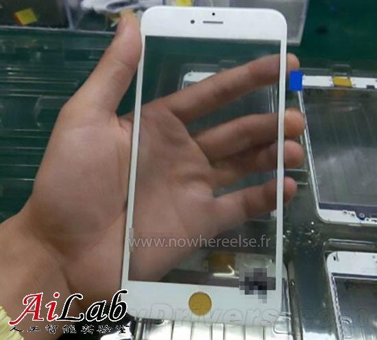 iPhone 6S Plus真机首次曝光 非蓝宝石玻璃