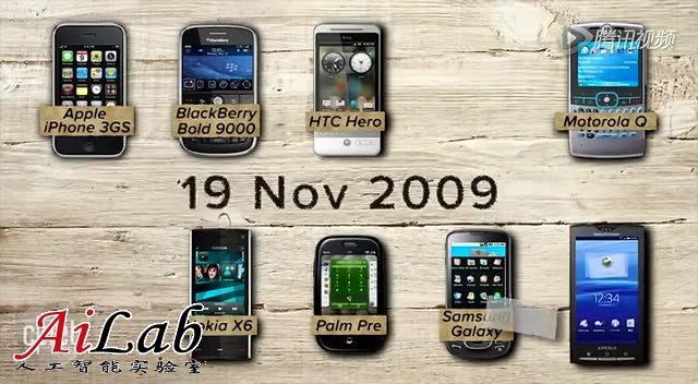 智能手机设计八年演化史:iPhone变化最小截图