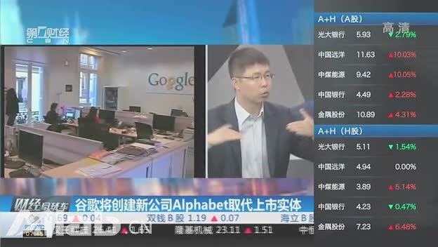 谷歌将创建新公司Alphabet 取代上市实体截图