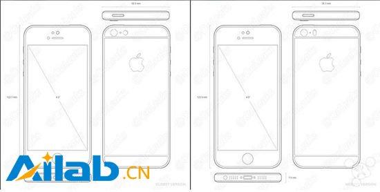 """最新iPhone 5se设计图曝光 它到底像 """"谁""""?"""
