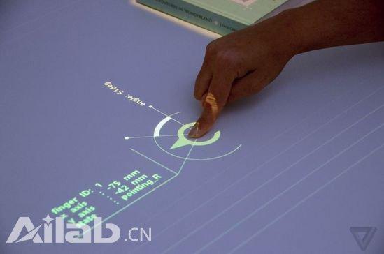 索尼概念桌面随时变成触摸显示屏