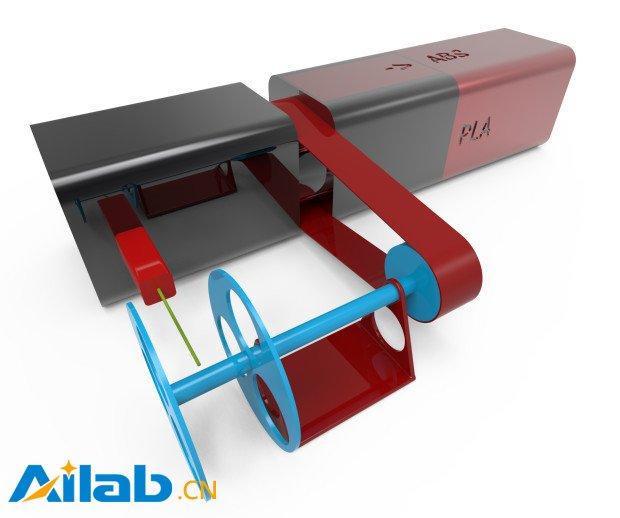 有了这台塑料回收机 3D打印原料再也不用花钱了