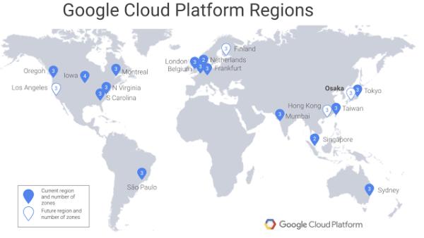 云计算、谷歌