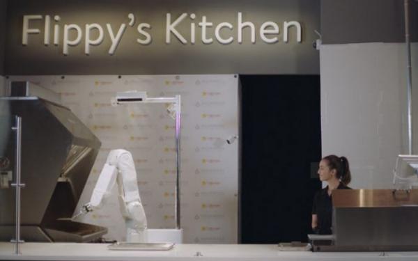 乐智网,Flippy机器人,厨房助手