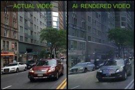 英伟达首次利用AI自动生成电子游戏视频画面