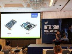 杰和科技携SDM触摸小屏方案亮相英特尔泰国峰会