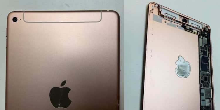 疑似新款 iPad mini 谍照 天线重新设计