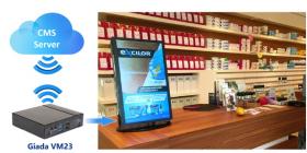杰和科技GDSM 超紧凑单屏媒体播放器VM23